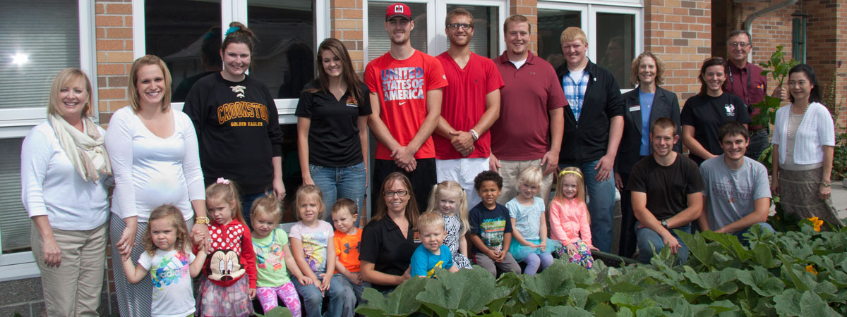Children Center Grow Box dedication