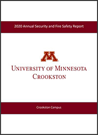 2020 Annual Security and Fire Safety Report Cover