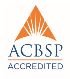 Accreditation Council for Business Schools and Programs (ACBSP) Logo - Click to learn more