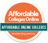Affordable Online Colleges Award Logo