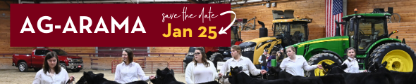 Save the date! Ag-Arama is January 25, 2020. Click to learn more!