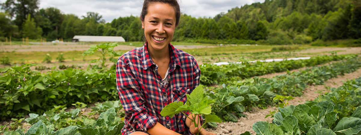 Ariana de Lena at Asian America Farms