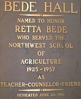 Bede Hall Plate