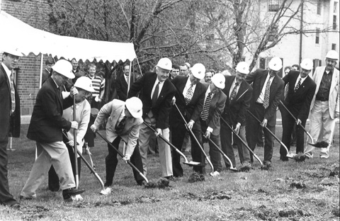Bergland Laboratory Ground Breaking