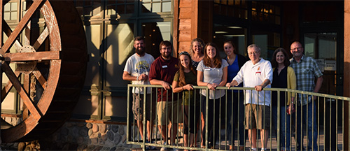 UMC and NWSA Alumni and UMC staff at a recent Brew Bash Tour stop