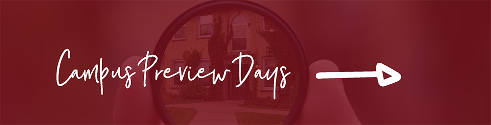 Campus Preview Days button