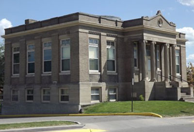 Carnegie Library in Crookston Minnesota