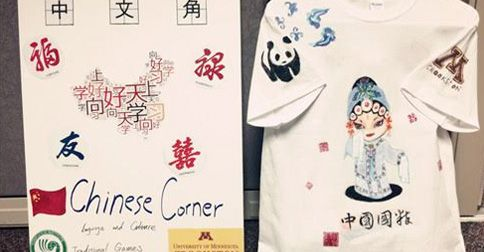 Chinese Corner - Paint your t-shirt Chinese style