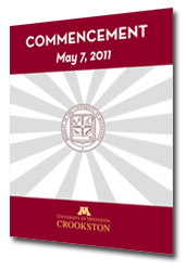 Commencement 2011 Program Image