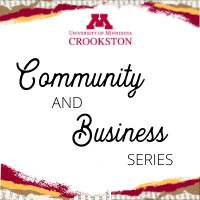 Community and Business Webinar Series Logo