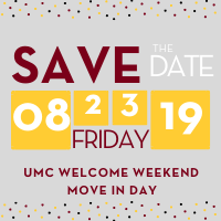 Move In Day 2019