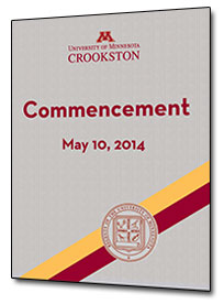 2014 Commencement Program
