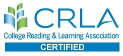 The University of Minnesota Crookston's Tutoring Program is certified by the CRLA - College Reading & Learning Association
