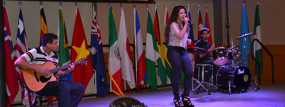 Brazilian Student Singer International Dinner