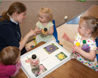 Early Childhood Development Center curriculum