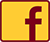 Facebook Icon in Maroon and Gold