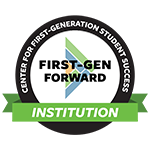 Center for First Generation Student Success - First-Gen Forward Institution Logo