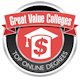 Great Value Colleges Badge
