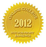 U of M Ranked #2 in Online Education by Guide to Online Schools Badge