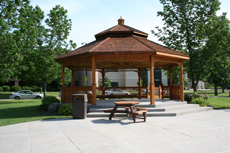Gazebo in the Mall