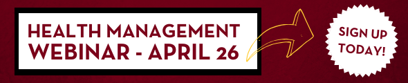 Health Management Webinar on April 26, 2019 - Advance your career and learn about our UMN Crookston's program. Click this banner to learn more!