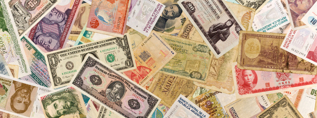 Image of foreign currency