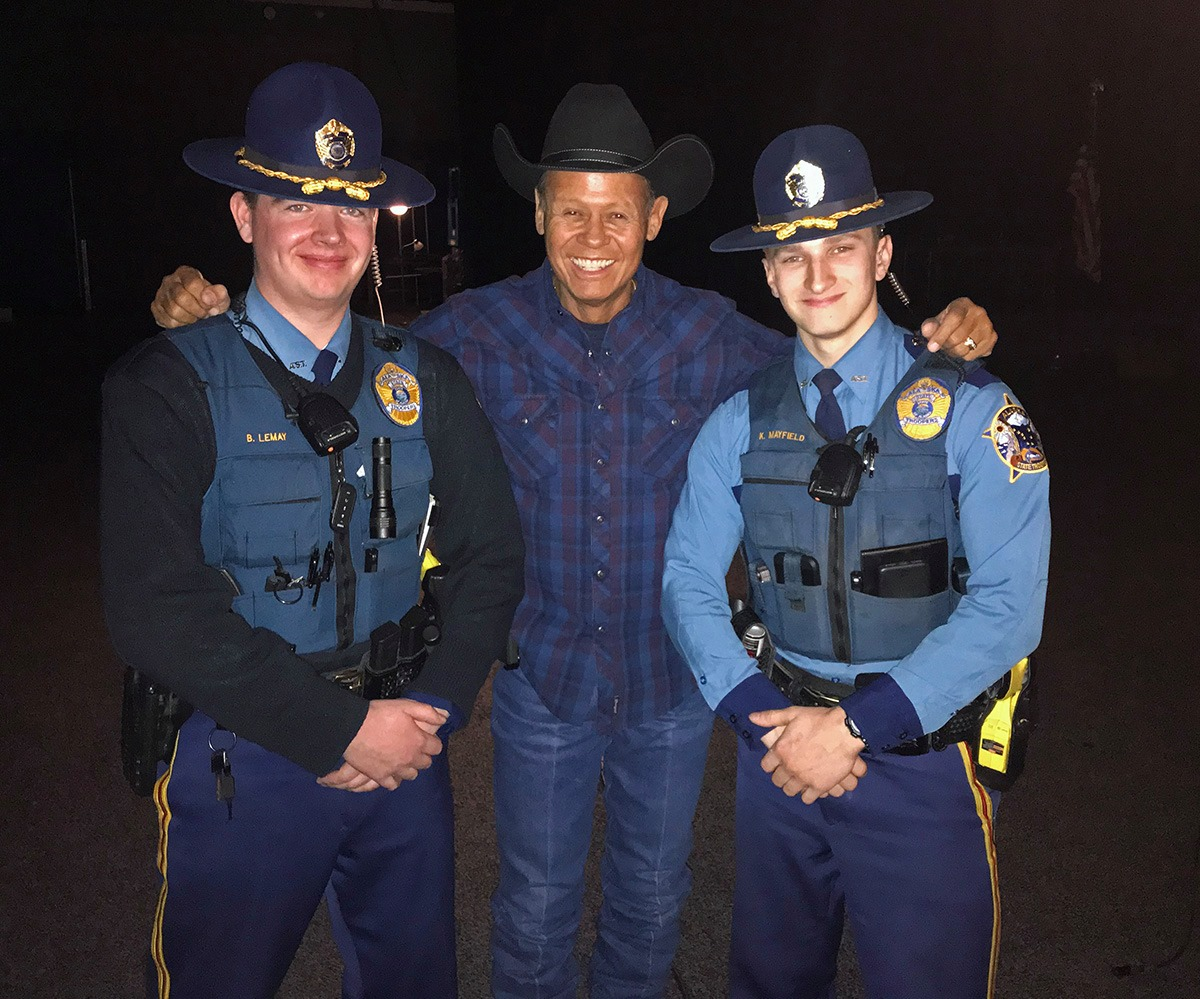 Lemay with Country Music Singer Neal McCoy