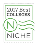 Niche 2017 Best Colleges Award Badge