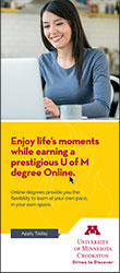 University of Minnesota Crookston Online Brochure 2017 - Click to download!