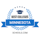 Best Colleges in Minnesota Badge