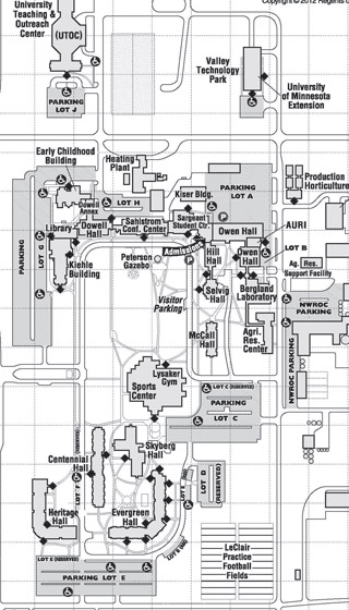 Umc Campus Map.Security Services University Of Minnesota Crookston