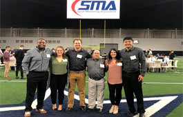 UMN Crookston group at Sports Marketing Conference