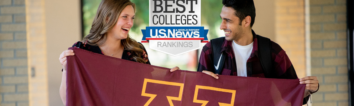 U.S. News & World Report Best Colleges Rankings Logo