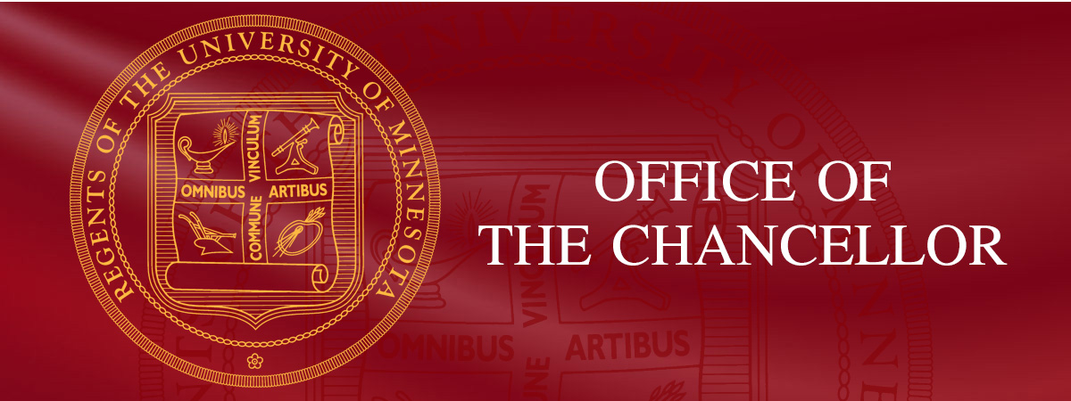 Office of the Chancellor and Regents Seal