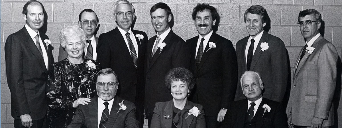 Throw-back: Torch & Shield recipients from the 1980s.