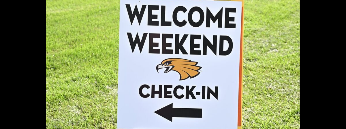Welcome Weekend Check-In