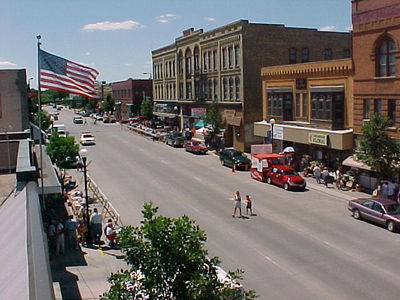 downtown Crookston