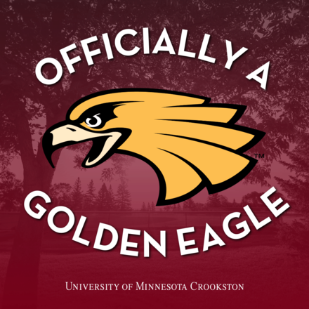 Officially a Golden Eagle - Social Media Icon for admitted students