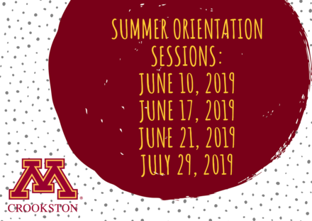 summer orientation sessions horizontal