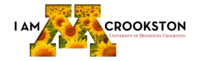 I am Crookston LinkedIn cover photo with sunflowers