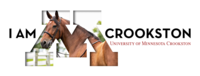 "I am Crookston, Equine edition for a Social Media ""Cover"" Image"