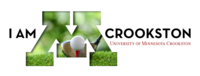 "I am Crookston, Golf edition for a Social Media ""Cover"" Image"