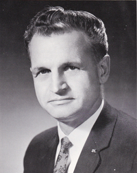 Founding Provost Stanley Sahlstrom in 1965