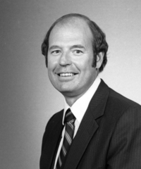Chancellor Donald Sargeant in 1985