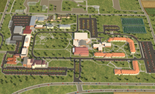 virtual tour map of U of M Crookston Campus