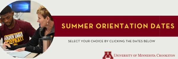 Summer Orientation Sessions