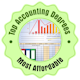 Top Acct Degrees Badge