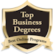 Top Business Degrees badge