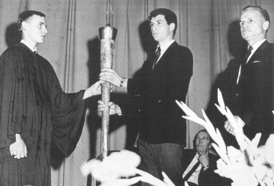 The passing of the Torch in 1968