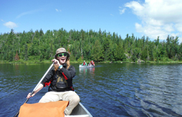 Weisel in the Boundary Waters